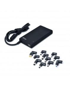 i-tec SLPA90W virta-adapteri ja vaihtosuuntaaja Sisätila 90 W Musta I-tec Accessories SLPA90W - 1