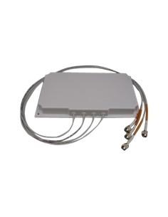 Cisco AIR-ANT2566P4W-R= nätverksantenner Riktantenn RP-TNC 6 dBi Cisco AIR-ANT2566P4W-R= - 1