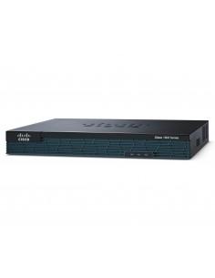 Cisco 1921 wireless router Gigabit Ethernet 3G Black Cisco C1921-4SHDSL-EA/K9 - 1