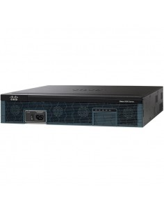 Cisco 2921 kabelansluten router Gigabit Ethernet Svart Cisco C2921-VSEC/K9 - 1