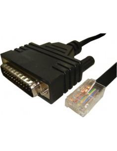Cisco CAB-CONAUX= sarjakaapeli Musta 1.8 m DB25 RJ-45 Cisco CAB-CONAUX= - 1