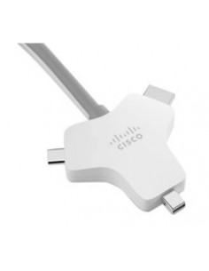 Cisco CAB-HDMI-MUL4K-9M= videokaapeli-adapteri HDMI-tyyppi A (vakio) HDMI + Mini DisplayPort USB Type-C Hopea Cisco CAB-HDMI-MUL