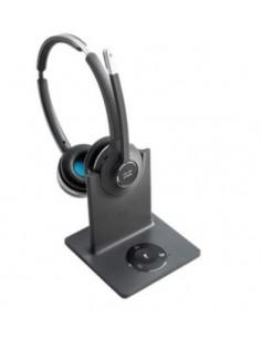 Cisco 562 Headset Huvudband USB Type-A Bluetooth Svart, Grå Cisco CP-HS-WL-562-M-EU= - 1