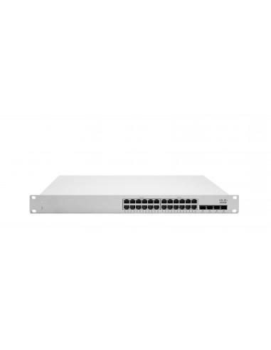 Cisco Meraki MS250-24P hanterad L3 Gigabit Ethernet (10/100/1000) Strömförsörjning via (PoE) stöd 1U Grå Cisco MS250-24P-HW - 1