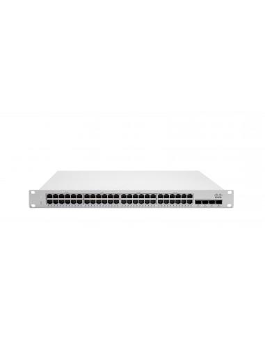 Cisco Meraki MS250-48LP hanterad L3 Gigabit Ethernet (10/100/1000) Strömförsörjning via (PoE) stöd 1U Grå Cisco MS250-48LP-HW -