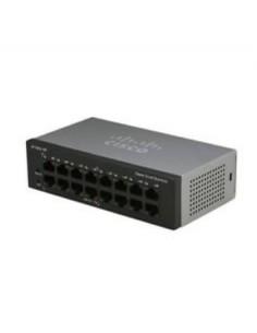 Cisco SF110D-16 Hallitsematon L2 Fast Ethernet (10/100) Musta Cisco SF110D-16-EU - 1