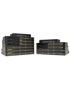 Cisco SG250-26HP-K9-EU verkkokytkin Hallittu L2 Gigabit Ethernet (10/100/1000) Power over -tuki Musta Cisco SG250-26HP-K9-EU - 1