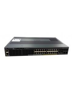 Cisco Catalyst WS-C2960X-24TS-LL verkkokytkin Hallittu L2/L3 Gigabit Ethernet (10/100/1000) Musta Cisco WS-C2960X-24TS-LL - 1