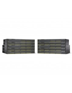 Cisco Catalyst WS-C2960X-48TD-L network switch Managed L2 Gigabit Ethernet (10/100/1000) Black Cisco WS-C2960X-48TD-L - 1