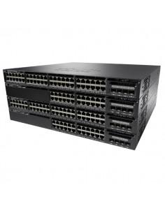 Cisco Catalyst WS-C3650-48TS-E nätverksswitchar hanterad L3 Gigabit Ethernet (10/100/1000) 1U Svart Cisco WS-C3650-48TS-E - 1