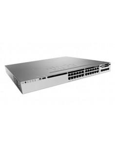 Cisco 3850-24S-S Hallittu Ei mitään 1U Musta, Harmaa Cisco WS-C3850-24S-S - 1