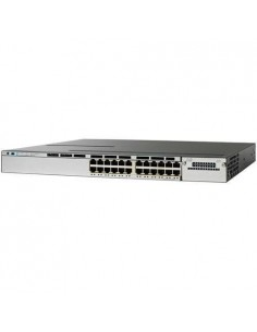 Cisco WS-C3850-24U-S network switch Managed L2/L3 Gigabit Ethernet (10/100/1000) Power over (PoE) 1U Stainless steel Cisco WS-C3