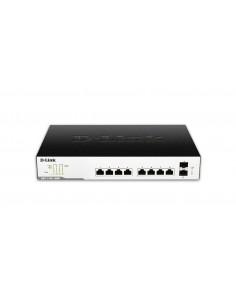 D-Link DGS-1100-10MPP verkkokytkin Hallittu Gigabit Ethernet (10/100/1000) Power over -tuki Musta, Harmaa D-link DGS-1100-10MPP