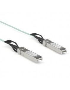 StarTech.com Dell EMC AOC-SFP-10G-2M Compatible 2m/6.5ft 10G SFP+ to AOC Cable - 10GbE Active Optical Fiber 10Gbps SFP Startech