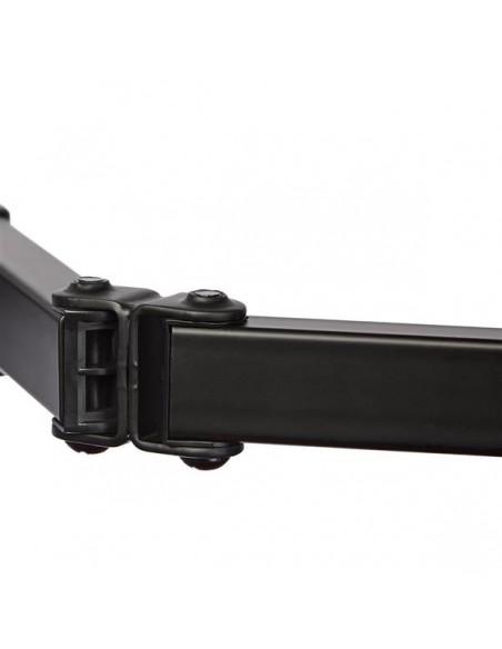 "StarTech.com ARMDUAL2 monitorin kiinnike ja jalusta 81.3 cm (32"") Puristin Musta Startech ARMDUAL2 - 8"