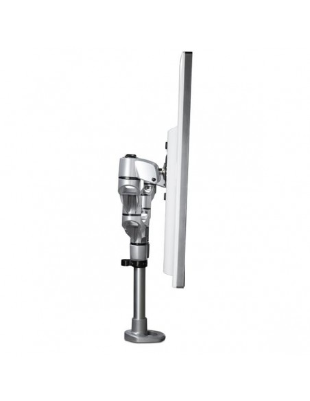 "StarTech.com ARMDUALPS monitorin kiinnike ja jalusta 68.6 cm (27"") Puristin Hopea Startech ARMDUALPS - 8"