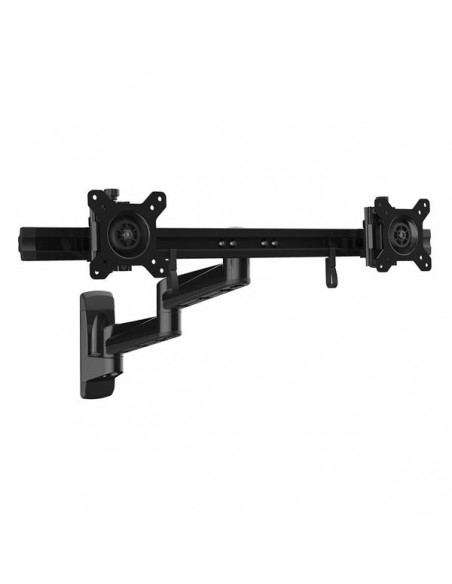 "StarTech.com ARMDUALWALL monitorin kiinnike ja jalusta 61 cm (24"") Musta Startech ARMDUALWALL - 1"