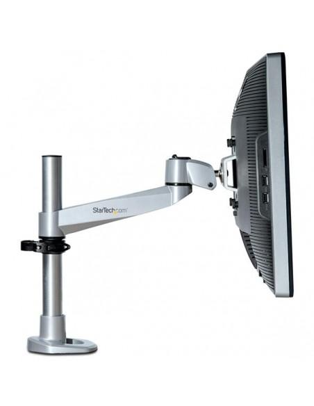 StarTech.com Skrivbordsmonterad monitorarm - ledad aluminium premium Startech ARMPIVOTB2 - 12