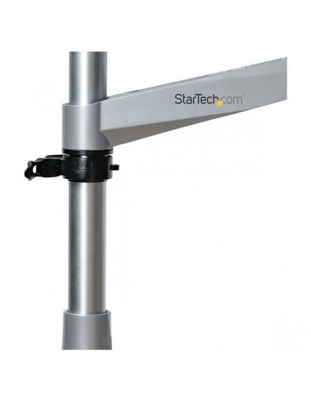 StarTech.com Skrivbordsmonterad monitorarm - ledad aluminium premium Startech ARMPIVOTB2 - 14