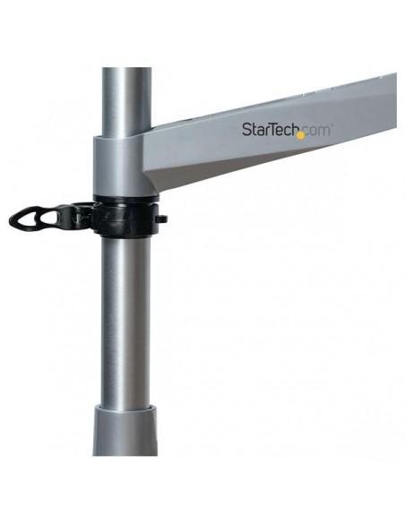 StarTech.com Skrivbordsmonterad monitorarm - ledad aluminium premium Startech ARMPIVOTB2 - 15