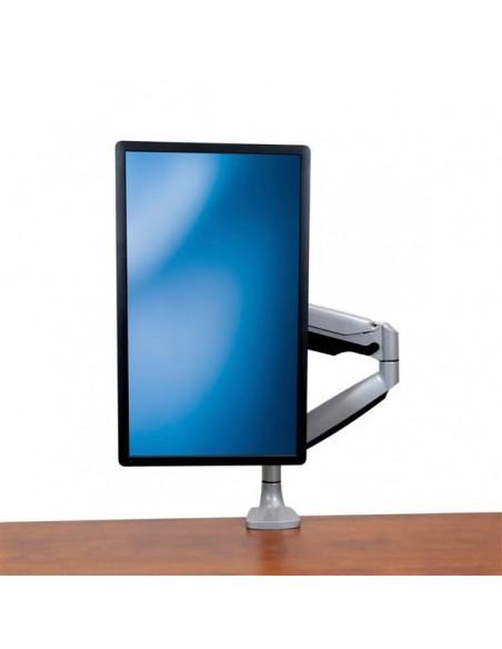 StarTech.com Single Desk-Mount Monitor Arm - Full Motion Articulating Silver Startech ARMPIVOTHD - 8