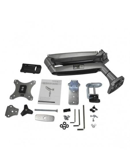 StarTech.com Single Desk-Mount Monitor Arm - Full Motion Articulating Silver Startech ARMPIVOTHD - 9
