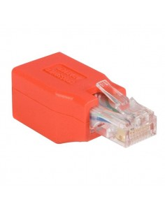 StarTech.com C6CROSSOVER cable gender changer RJ-45 Punainen Startech C6CROSSOVER - 1