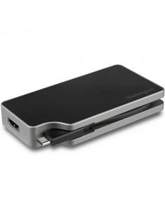 StarTech.com CDPVDHMDPDP USB grafiikka-adapteri 4096 x 2160 pikseliä Musta, Harmaa Startech CDPVDHMDPDP - 1