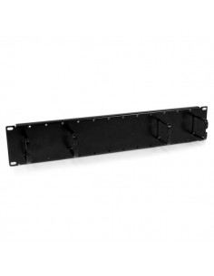 StarTech.com 2U Double-Sided Horizontal Cable Management Panel with Finger Duct & D-Ring Hooks Startech CMPNL2U - 1