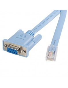 StarTech.com 6 ft RJ45 to DB9 Cisco Console Management Router Cable - M/F Startech DB9CONCABL6 - 1
