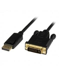 StarTech.com 1.8 m aktiv DisplayPort till DVI-adapter/konverteringskabel - DP DVI 1920x1200 Svart Startech DP2DVIMM6BS - 1