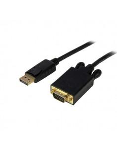 StarTech.com DP2VGAMM10B videokaapeli-adapteri 3 m DisplayPort VGA (D-Sub) Musta Startech DP2VGAMM10B - 1