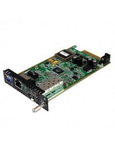 StarTech.com ET91000SFP2C verkon mediamuunnin Sisäinen 1250 Mbit/s Musta, Vihreä Startech ET91000SFP2C - 1