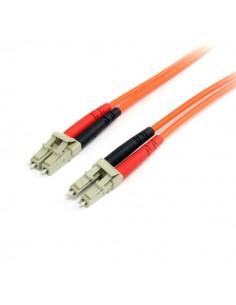 StarTech.com 3 m 62,5/125 multiläges Duplex fiberpatchkabel LC - Startech FIBLCLC3 - 1