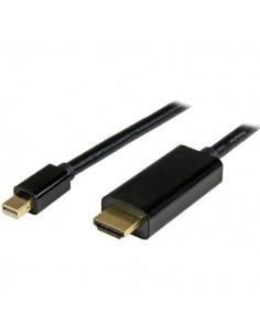 StarTech.com Mini DisplayPort till HDMI-konverterarkabel - 2 m 4K Startech MDP2HDMM2MB - 1