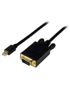 StarTech.com MDP2VGAMM10B videokaapeli-adapteri 3 m mini DisplayPort VGA (D-Sub) Musta Startech MDP2VGAMM10B - 1