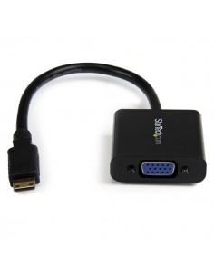 StarTech.com Mini HDMI to VGA Adapter Converter for Digital Still Camera / Video - 1920x1080 Startech MNHD2VGAE2 - 1