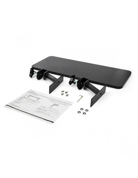 """StarTech.com Monitor Riser Stand - Desk Mount Extra Wide 25.6"""" (65 cm) Startech MNRISERCLMP - 8"""