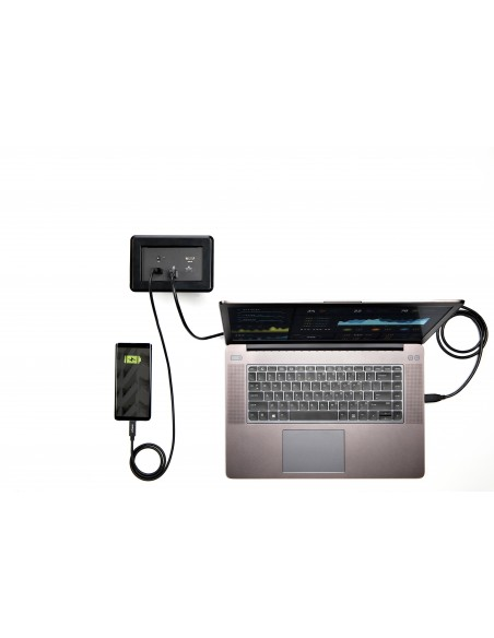 StarTech.com Laptop-dockningsmodul för anslutningslåda till konferensbord Startech MOD4DOCKACPD - 6