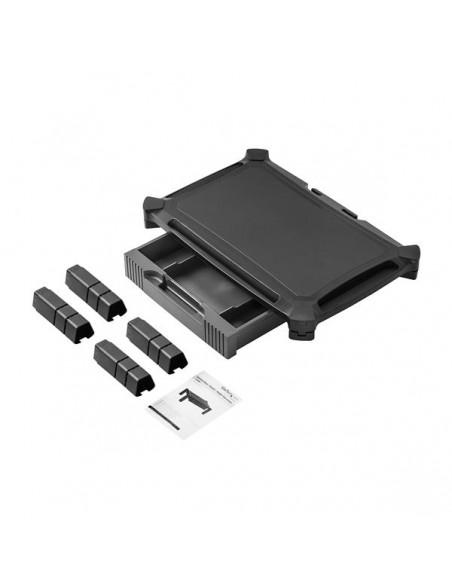 "StarTech.com MONSTADJDL monitorin kiinnike ja jalusta 81.3 cm (32"") Vapaasti seisova Musta Startech MONSTADJDL - 4"