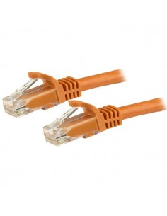 StarTech.com 3m CAT6 Ethernet Cable - Orange CAT 6 Gigabit Wire -650MHz 100W PoE RJ45 UTP Network/Patch Cord Snagless w/Strain S