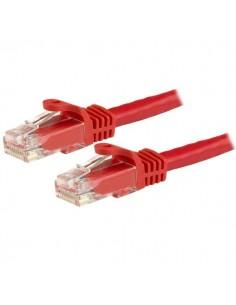 StarTech.com Cat6-patchkabel med hakfria RJ45-kontakter – 3 m, röd Startech N6PATC3MRD - 1