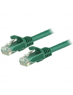 StarTech.com 50cm CAT6 Ethernet Cable - Green CAT 6 Gigabit Wire -650MHz 100W PoE RJ45 UTP Network/Patch Cord Snagless w/Strain