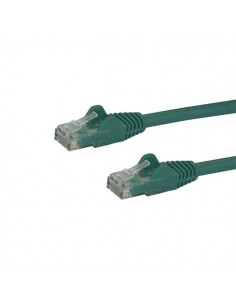 StarTech.com 100ft CAT6 Ethernet Cable - Green CAT 6 Gigabit Wire -650MHz 100W PoE RJ45 UTP Network/Patch Cord Snagless Startech