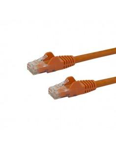 StarTech.com 100ft CAT6 Ethernet Cable - Orange CAT 6 Gigabit Wire -650MHz 100W PoE RJ45 UTP Network/Patch Cord Snagless Startec