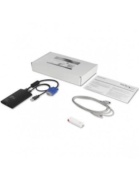 StarTech.com USB-akutvagnsadapter med filöverföring och videoinspelning Startech NOTECONS02 - 8