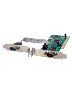 StarTech.com 2 Port PCI RS232 Serial Adapter Card w/ 16950 UART - Dual Voltage Startech PCI2S950DV - 1