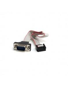 StarTech.com PNL9M16 seriella kablar Grå 0.4064 m DB-9 IDC Startech PNL9M16 - 1