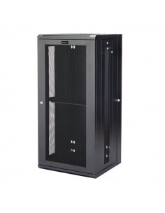 """StarTech.com 26U 19"""" Wall Mount Network Cabinet - 16"""" Deep Hinged Locking IT Switch Depth Enclosure Assembled Vented Computer St"""