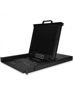 """StarTech.com 16-Port Rackmount KVM Console with 17"""" Display Startech RKCONS1716K - 1"""